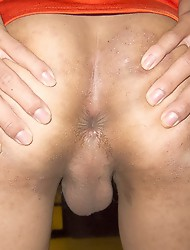 Femboy With Braces Bareback