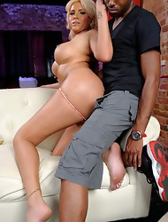 Amazing Marjorie takes a black cock