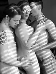 Amazing TMILF Jasmine having fun with her lovers